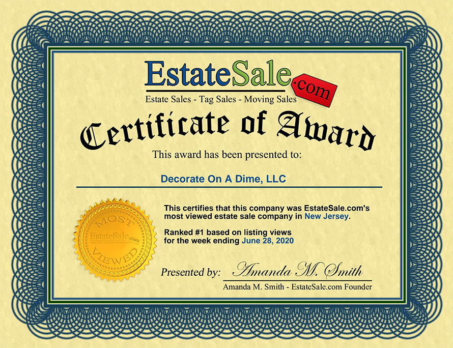 Estate Sales Leader Monmouth County